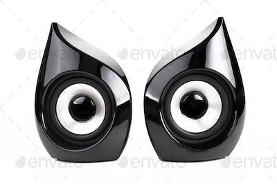 Pair of Black Speakers