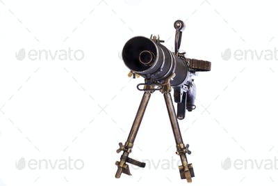 Gun on Tirpod