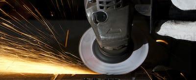 grinding closeup