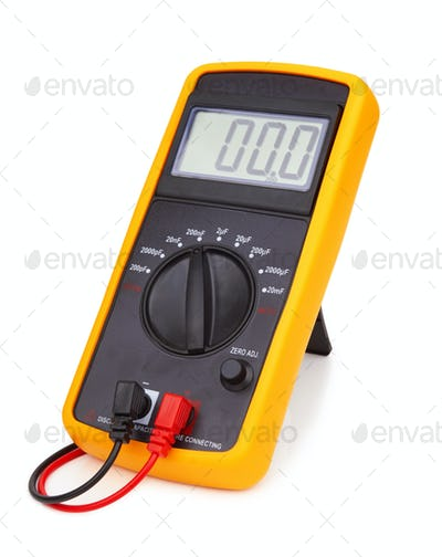 Digital multimeter isolated