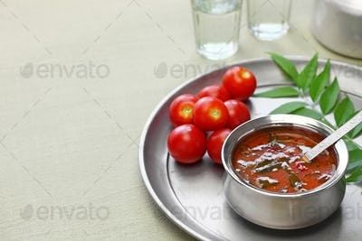 tomato rasam, kerala style tomato soup, south indian food