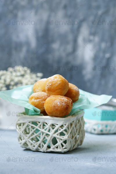 Cottage Cheese Donuts Balls