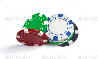 Coloured Casino Chips