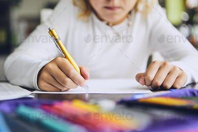 Homework for elementary school