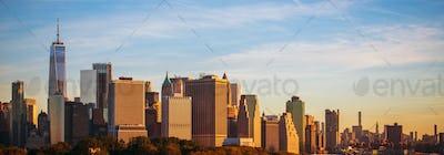 Panoramic Photo of New York