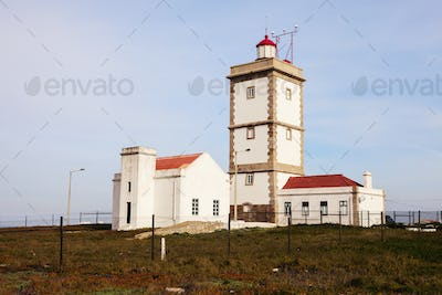 Cabo Carvoeiro Lighthouse in Portugal