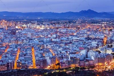 Panorama of Alicante