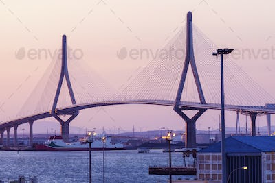 La Pepa Bridge in Cadiz