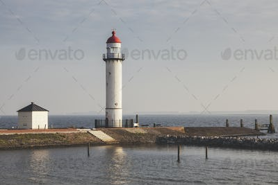 Hellevoetsluis Lighthouse in Netherlands