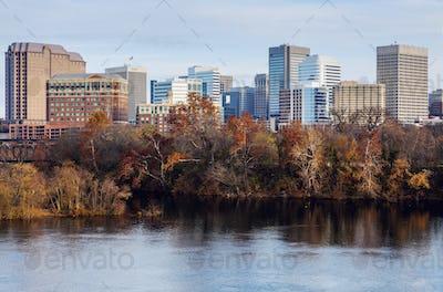 Skyline of Richmond