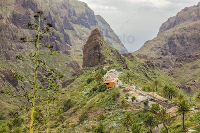 Panorama of Masca, Tenerife
