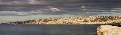 Naples panorama at sunrise