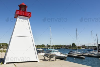Collingwood Lighthouse by Lake Huron