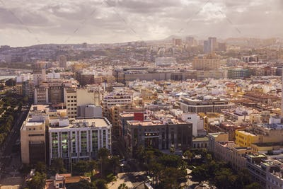Panorama of Las Palmas