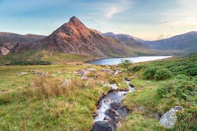 Mount Tryfan in Snowdonia