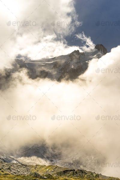 Aiguille du Midi peak
