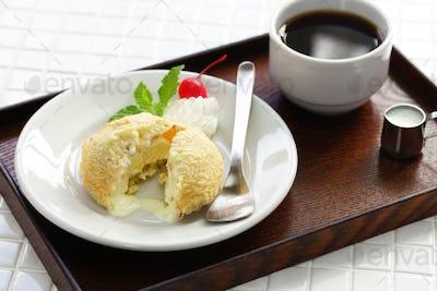 homemade tempura ice cream