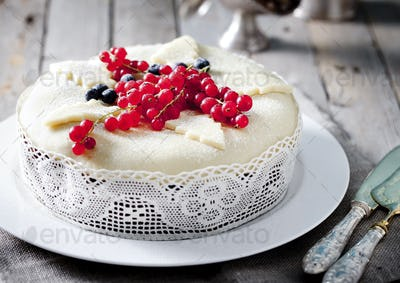 Traditional Christmas Fruit Cake, Pudding.