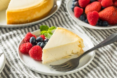 Homemade New York Cheesecake
