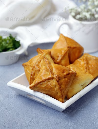 Small Pies with Meat Samsa