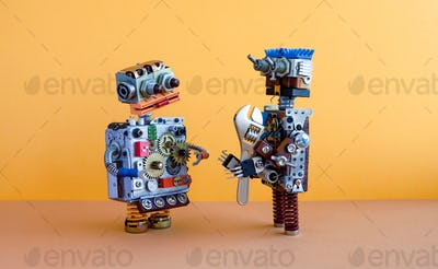 Robots communication
