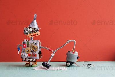 Robot vacuum cleaner machine service.