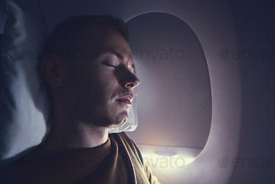 Sleep during flight