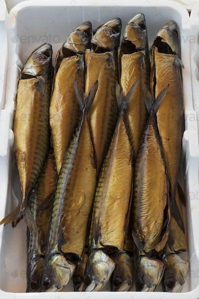 Fresh smoked mackerel