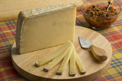 French Cantal aop cheese