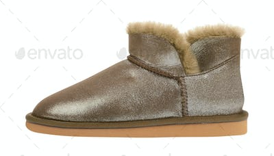 light pair of short winter ugg