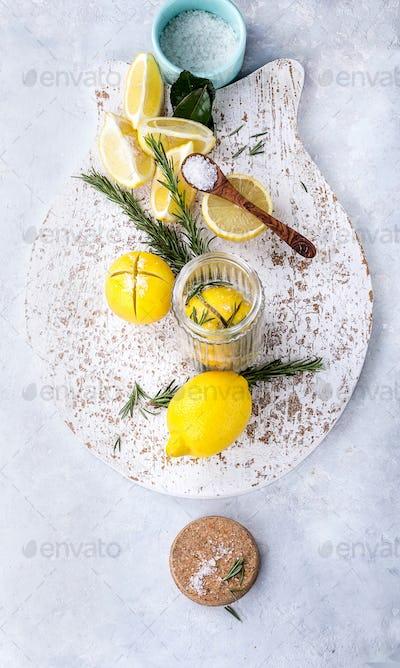 Moroccan Pickled Lemon
