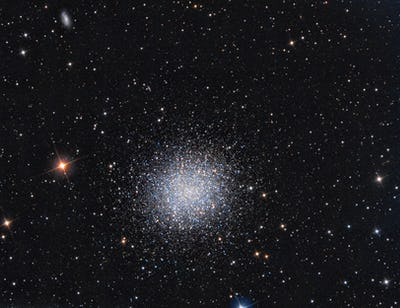 M13 Globular Cluster in constellation Hercules