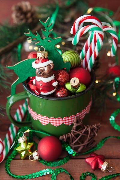 Cheerful Christmas decorations