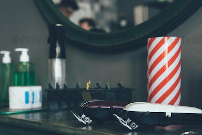 Hair clippers and barbershop tools
