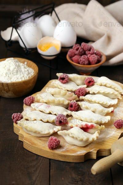 Dumplings with Berries