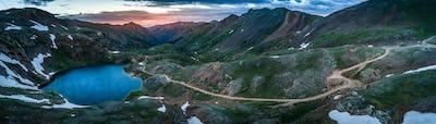 Lake Como- Poughkeepsie Pass, San Juan Mountains off Engineer Pa