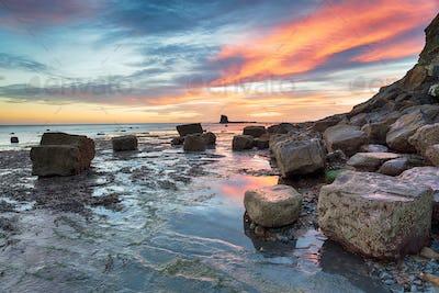 Stunning Sunrise on the Yorkshire Coast