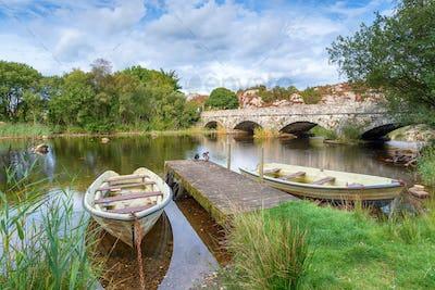 The Pont Pen y Llyn at Llanberis in Wales