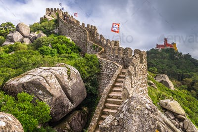 Sintra, Portugal Castles
