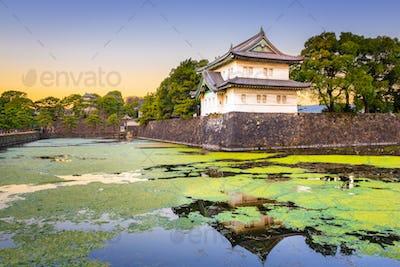 Tokyo, Japan at the Imperial Palac