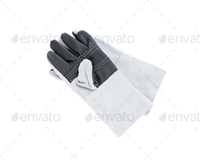 Leather gloves for welding-2