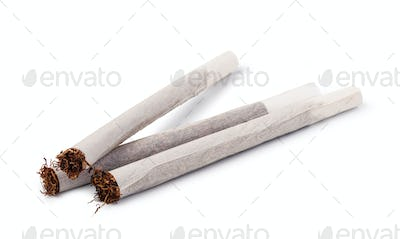 Hand rolled cigarettes
