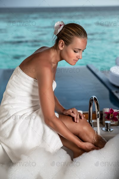 Exotic vacation on Maldives