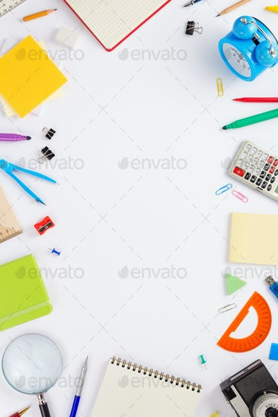 school accessories and stationary supplies