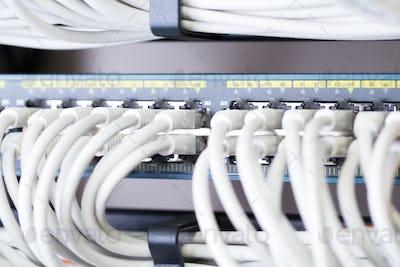 Fast Gigabit Ethnernet network switch in datacenter