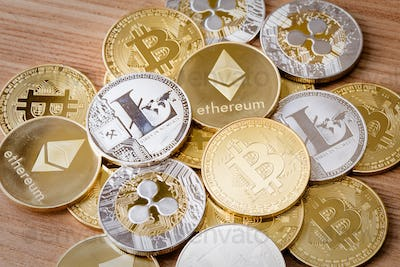 Isolated Crypto Currency
