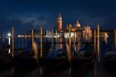 San Giorgio Maggiore at night