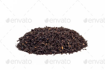 Pile ceylon tea