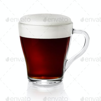 Cup of coffe isolated