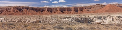 Red Rock Desert Panorama